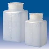 Бутылки квадратные градуированные с завинчивающейся крышкой, Aptaca