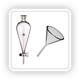 Воронки лабораторные (стекло)